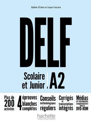 DELF A2 SCOLAIRE JUNIOR + DVD - hachette - 9782014016116 -