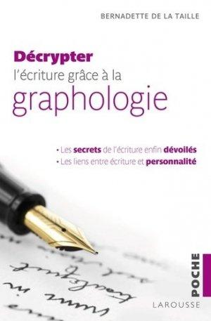 Décrypter l'écriture grâce à la graphologie - larousse - 9782035905246 -