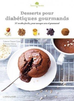 Desserts pour diabétiques gourmands - larousse - 9782035923936 -