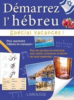 Démarrez l'hébreu - larousse - 9782035935120 -