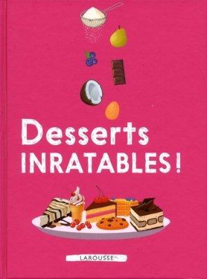 Desserts inratables ! - Larousse - 9782035948137 -