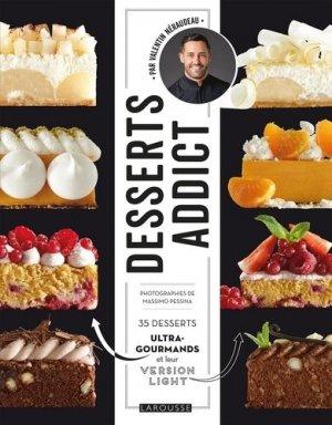 Desserts addict - Larousse - 9782035973740 -