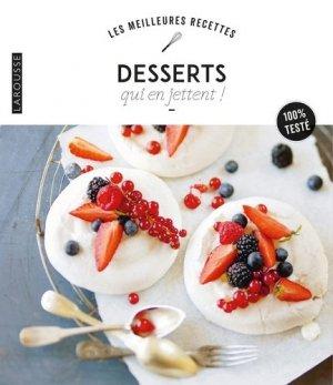Desserts qui en jettent ! - Larousse - 9782035981981 -