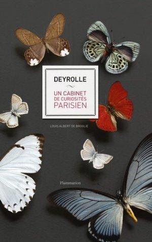 Deyrolle - un cabinet de curiosités parisien - flammarion - 9782081415928 -