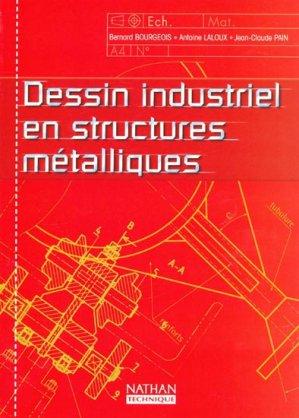 Dessin industriel en structures métalliques - nathan - 9782091792910 -