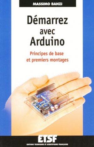 Démarrez avec Arduino - etsf - 9782100562916 -