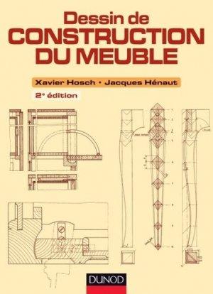 Dessin de construction du meuble - dunod - 9782100570638 -