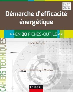 Démarche d'efficacité énergétique - en 20 fiches-outils - dunod - 9782100738571 -