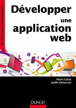 Développer une application web - dunod - 9782100743759 -