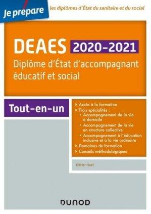 DEAES 2019-2020 - dunod - 9782100784462 -
