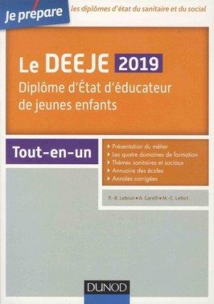 DEEJE 2019 - Tout-en-un - dunod - 9782100784486 -