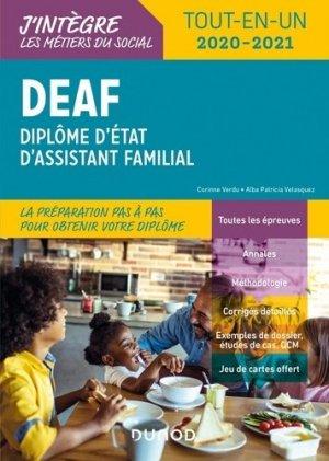 DEAF - Tout-en-un 2020-2021 - dunod - 9782100810277 -