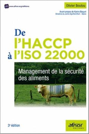 De l'HACCP à l'ISO 22000 - afnor - 9782124654703 -
