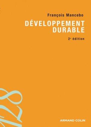 Développement durable - armand colin - 9782200285968 -