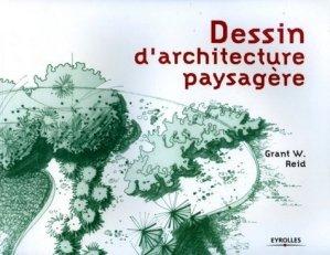 Dessin d'architecture paysagère - eyrolles - 9782212117011 -