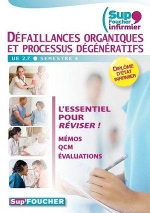 Défaillances organiques et processus dégénératifs - foucher - 9782216123223 -