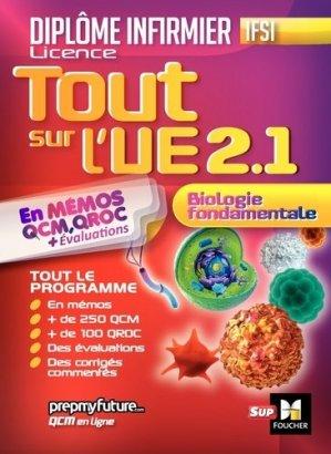 DEI - Biologie Fondamentale - UE 2.1 - foucher - 9782216146680 -