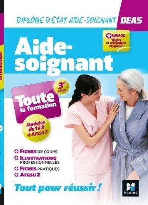 DEAS - IFAS Diplôme d'état Aide-Soignant. 3e édition - Foucher - 9782216160273 -