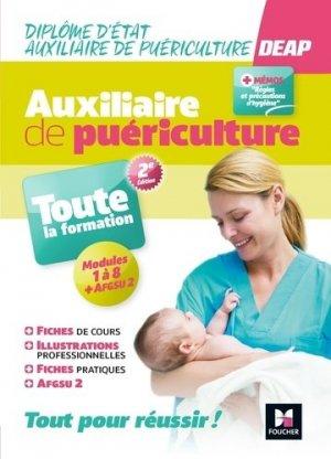 DEAP - IFAP - Diplôme d'Etat Auxiliaire de puériculture. 2e édition - Foucher - 9782216160334 -