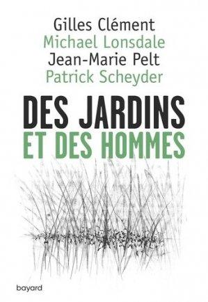 Des jardins et des hommes - bayard - 9782227488724