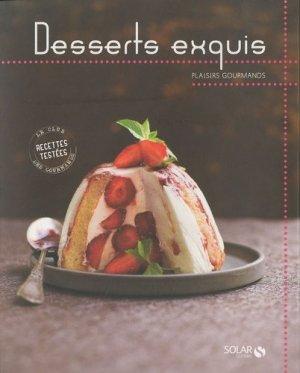 Desserts exquis - solar - 9782263050756 -