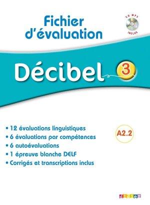 Décibel 3 : Fichier d'Évaluation - didier - 9782278090853 -