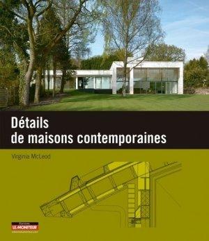 Détails de maisons contemporaines - le moniteur - 9782281117011 -