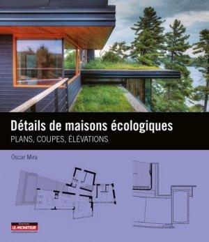 Détails de maisons écologiques - le moniteur - 9782281117783 -