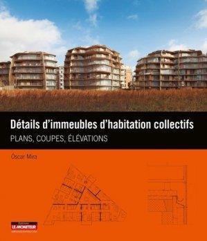 Détails d'immeubles d'habitation collectifs - le moniteur - 9782281117806 -