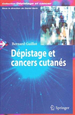 Dépistage et cancers cutanés - springer verlag - 9782287710490 -