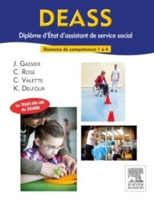 DEASS Diplôme d'Etat d'assistant de service social - elsevier / masson - 9782294740374 -