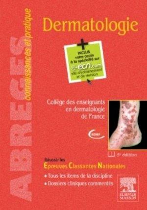 Dermatologie - elsevier / masson - 9782294743146 -