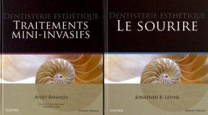 Dentisterie esthétique - Pack 2 tomes - elsevier / masson - 9782294765155 -