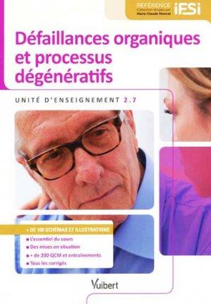 Défaillances organiques et processus dégénératifs - vuibert - 9782311012828