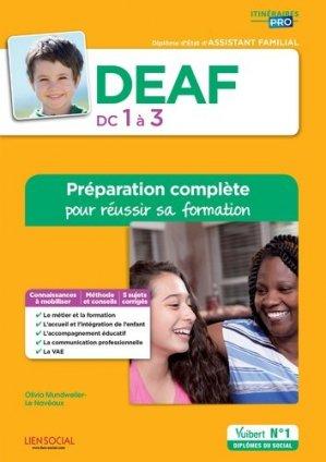 DEAF - DC1 à 3 - vuibert - 9782311203523 -