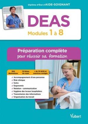 DEAS / modules 1 à 8 : préparation complète pour réussir sa formation - vuibert - 9782311203547 -