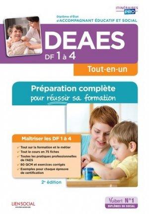 DEAES DF 1 à 4 - Préparation complète pour réussir sa formation - vuibert - 9782311205800 -