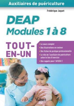 DEAP modules 1 à 8 Tout en un - vuibert - 9782311205909 -