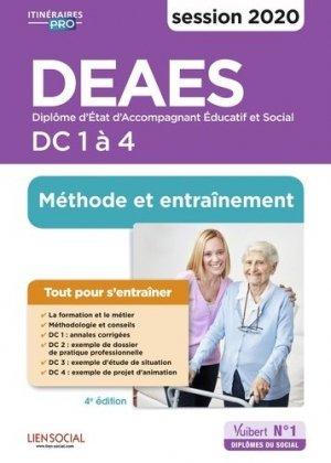 DEAES DC 1 à 4 - vuibert - 9782311206777