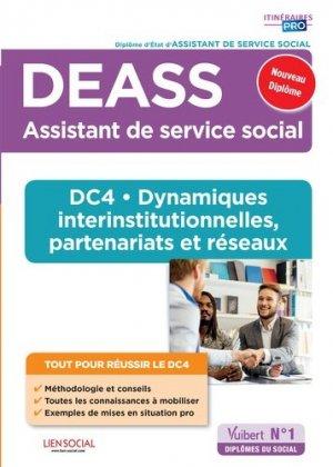 DEASS DC4 Dynamiques interinstitutionnelles, partenariats et réseaux - vuibert - 9782311207088