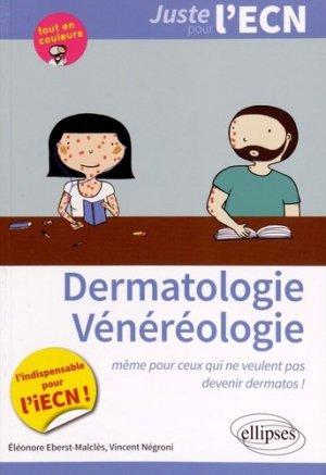 Dermatologie - Vénéréologie - ellipses - 9782340001725