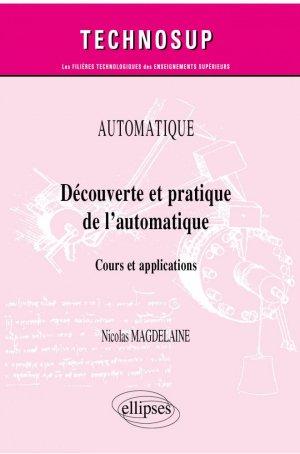 Découverte et pratique de l'automatique - Ellipses - 9782340039735 -