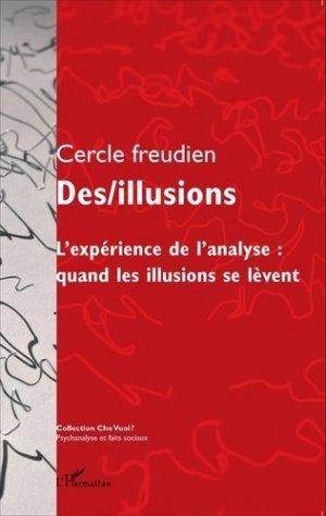 Des/illusions - l'harmattan - 9782343057286 -
