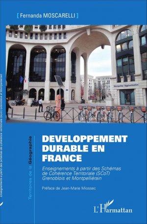 Développement durable en France - l'harmattan - 9782343067162 -