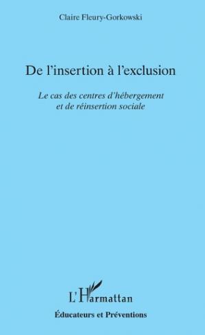 De l'insertion à l'exclusion - l'harmattan - 9782343153971 -