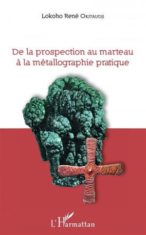 De la prospection au marteau à la métallographie pratique - l'harmattan - 9782343162751 -