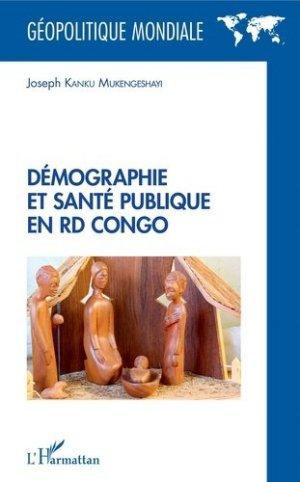 Démographie et santé publique en RD Congo - L'Harmattan - 9782343181226 -