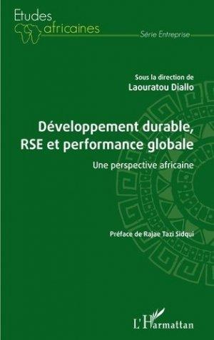 Développement durable, RSE et performance globale - l'harmattan - 9782343225418 -