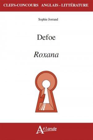 Defoe, Roxana - Atlande - 9782350304588 -