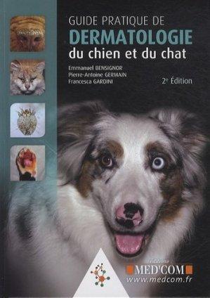 Dermatologie du chien et du chat - med'com - 9782354031978 -